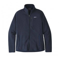 MS BETTER SWEATER JACKET NEW NAVY