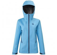 KAMET LIGHT GTX JACKET W LIGHT BLUE