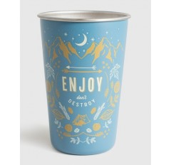 ENJOY 16OZ STLESS TUMBLER