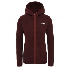 WS NIKSTER FULL ZIP HOODIE SEQUOIA RED DARK HEATHE