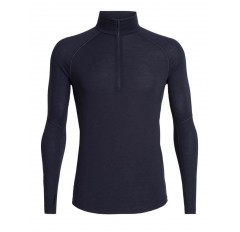 150 ZONE LS HALF ZIP MS MIDNIGHT NAVY