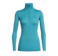 200 OASIS LS HALF ZIP SKY PATHS ARTIC TEA