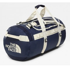 BASE CAMP DUFFEL L MONTAGUE BLUE / VINTAGE WHITE