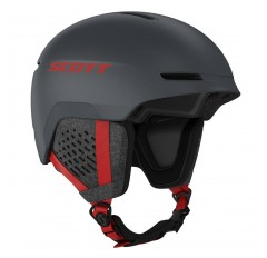 TRACK HELMET IRON GREY RED