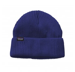 FISHERMANS ROLLED BEANIE COBALT
