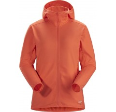 KYANITE LT HOODY WS ORANGE