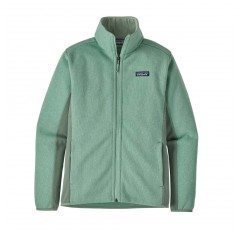 LW BETTER SWEATER JACKET WS GYPSUM GREEN