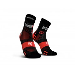 PRO RACING SOCKS V3.0 ULTRALIGHT RUN HIGH BLACKRED