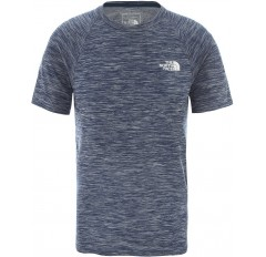 MS IMPENDOR SEAMLESS TEE BLUE WING TEAL