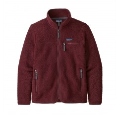 WS RETRO PILE JACKET CHICORY RED