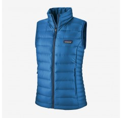 WS DOWN SWEATER VEST ALPINE BLUE