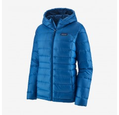 WS HI LOFT DOWN HOODY ALPINE BLUE