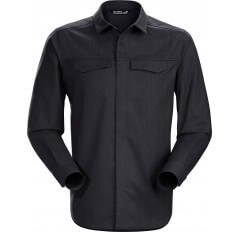 LATTIS SHIRT LS BLACK