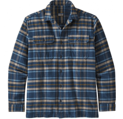 MS L/S FJORD FLANNEL SHIRT INDEPENDENCE NEW NAVY