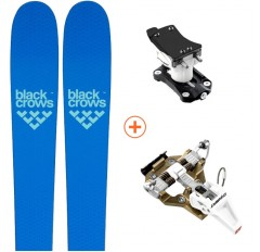 pack ski rando black crows ova freebird + speed turn 2.0