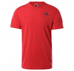 MS S/S REDBOX CELEBRATION TEE ROCOCCO RED