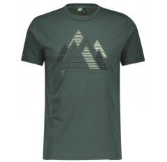 TRAIL MTN DRI GRAPHIC S/SL SHIRT MS SMOKED GREEN
